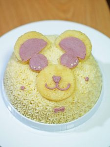 赤ちゃんでも食べれる誕生日ケーキ