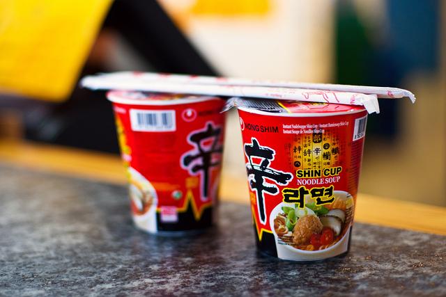 韓国 カップラーメン