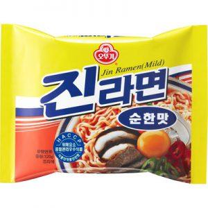 韓国インスタントラーメン 辛くない