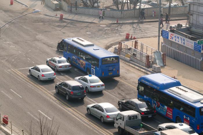 韓国のバスの乗り方